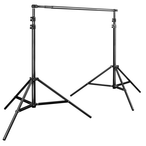 Walimex Pro telescopic background system (extendible from approx. 120 to 307 cm with carry bag)
