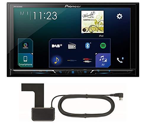 Pioneer-Radio-SPH-DA230DAB-2DIN-Apple-CarPlay-Waze-mit-Antenne-Einbauset-fr-BMW-3er-E90-E91-E92-E93-Man-Klima-mit-Canbus