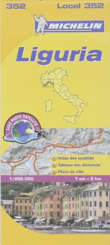 Carte LOCAL Ligurie par Collectif Michelin