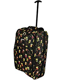 Ryanair Approved Wheeled Cabin Bag Hand Luggage Trolley - Lightweight  Flight Suitcase - Many Different Styles 9fdd1dd0e