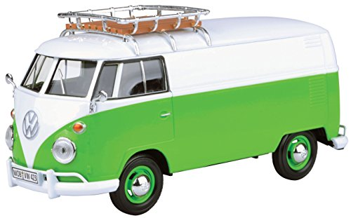 VW MM79551 Dachträger, Grün/Weiß, 1:24 Scale