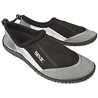 SEAC Reef Zapatillas Anti Deslizamiento niños, Secado rápido, Zapatos para el mar, la Playa y la Piscina, Unisex-Adult, Gris, 44