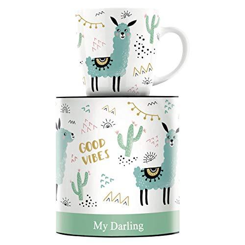 RITZENHOFF My Darling Kaffeebecher von Izabella Markiewicz, aus Porzellan, 300 ml, mit trendigen Motiven