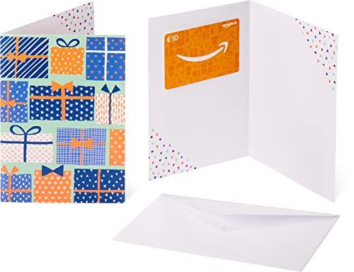 Amazon.de Geschenkkarte in Grußkarte - 10 EUR (Geschenkboxen) -