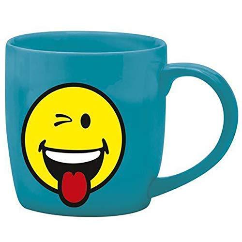 Zak designs 6727-1591 Mug Expresso Porcelaine Bleu 7,5 cl