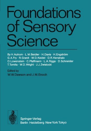Foundations of Sensory Science by H. Autrum (1984-01-01)