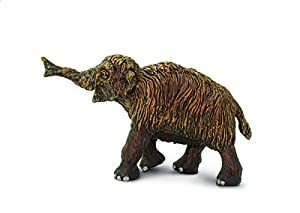 Safari S280029 Wild Prehistórico Mundo Lana Mammoth Bebé Miniatura