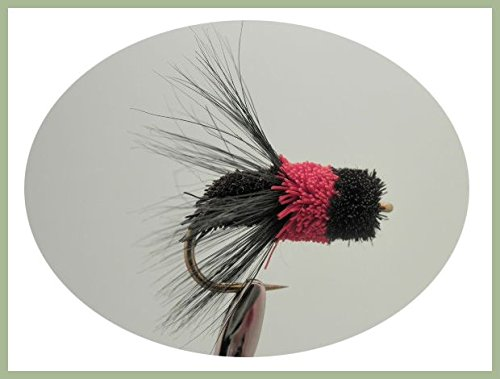 Large Trout Bread Fly Carp Bass 4 Pack Brown Mullet Fishing Flies Size 10//12
