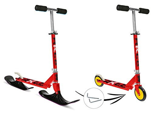 Stamp 2in1scooter–roller e neve scooter slitta in un