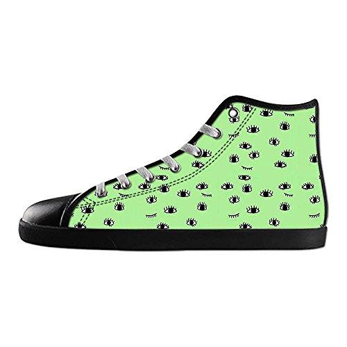 Dalliy eye pattern Men's Canvas shoes Schuhe Lace-up High-top Sneakers Segeltuchschuhe Leinwand-Schuh-Turnschuhe D