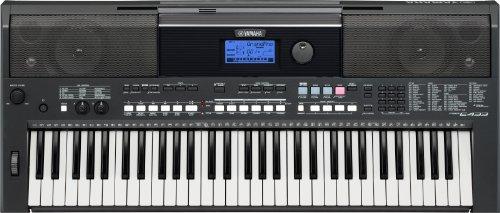 Yamaha PSR-E433 Digital Keyboard (61 anschlagdynamische Tasten, 731 Klangfarben, Arpeggio Funktion) inkl. Netzteil
