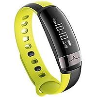Lemumu M6 Sport Bluetooth Smart Banda de frecuencia cardíaca con Tensiómetro Brazalete Pulsera resistente al agua