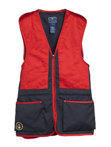 Beretta Schießweste, dunkel blau/rot, M, GT40-0074-0504_M -