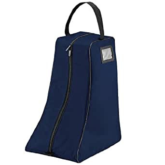 Quadra Large Boot Bag, French Navy/Black,