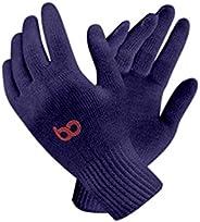Bon Organik Reusable Blue Cotton Hand Gloves (Pack Of 10)