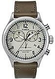 Timex Orologio Cronografo Quarzo Uomo con Cinturino in Pelle TW2R70800
