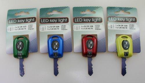 LED Schlüssellicht Handtaschenlicht 4er Set Im Dunkeln mit dem Schlüssel Licht Türschloß ausleuchten -