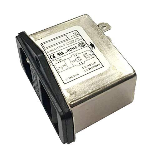 CW2C-10A-T EMI RFI Filter AC 250V 10A Suppressor Power Linie Lärm Filter Praktisch