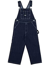 Key Industries Peto Niños - Azul Stone Wash peto vaquero de moda dungaree monos KID001