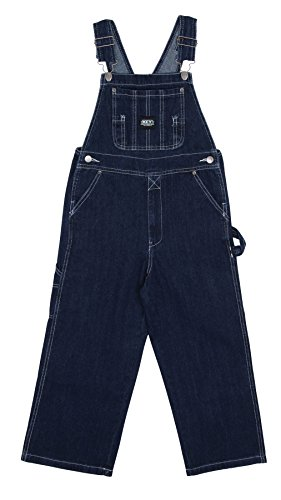 Key Industries - Kinder-Latzhose - Stone washed kinder latzhosen jeans latzhose KID001-Age 18