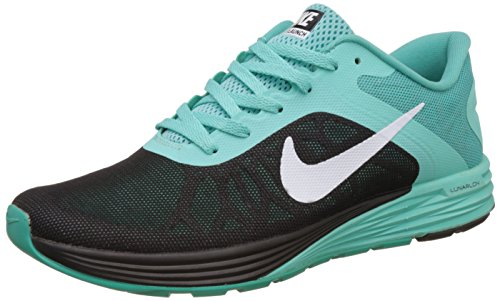 Nike Men's Lunarglide 6 Black Running Shoes - 8.5 UK/India (43 EU)(9.5 US)(749171-011)  available at amazon for Rs.5997