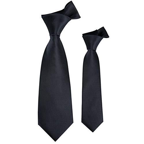 LLTYTE Qz-251 Vintage Plain Black Kinderkrawatte Woven Polyester Neck Tie Boys Kinderkrawatte Plain Tie Neck Tie Boys Produkt Geeignet für formelle Anlässe Geschäftstreffen Patrick Woven Tie