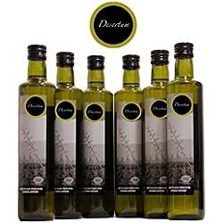Aceite de oliva virgen extra Desertum - Pack de 6 botellas de 500 ml - La esencia del Desierto