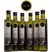 Aceite de oliva virgen extra Desertum - Pack de 6 botellas de 500 ml - La