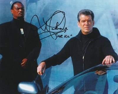 Die Another Day-Lawrence makoare Original Authentic Autogramm AFTAL COA