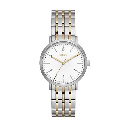 DKNY Damen Analog Quarz Uhr mit Edelstahl Armband NY2505