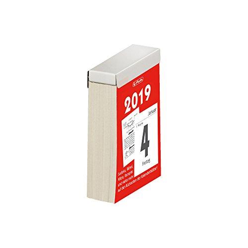 Herlitz 50017959abreissk Alender 2019, misura 4