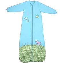 Saco de dormir de invierno Slumbersac con mangas largas y diseño de pony, 3,