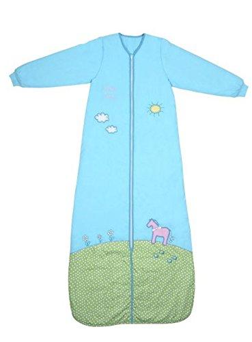 Saco de dormir de invierno Slumbersac con mangas largas y diseño de pony, 3,5tog, varias tallas (12meses hasta 10años) Talla:6-10 Years