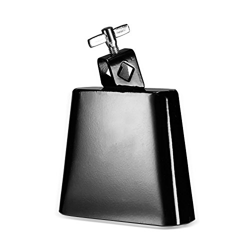 neewerr-6-inch-solid-steel-classical-rock-cowbell-for-drumset-with-mounting-screw-and-sleek-black-fi