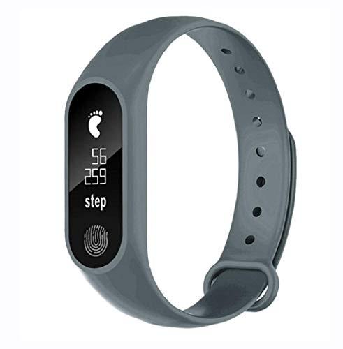 CANDLLY Smartwatch, M2 Podómetro Deportivo