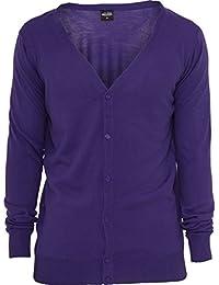 Urban classics veste pour homme en tricot knitted tB405 coupe regular fit