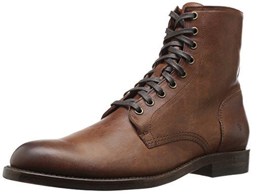 FRYE Men's Will Lace Up Combat Boot, Copper, 12 D US (Lace-up Combat Boots)