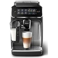Philips serie 3200 lattego ep3246/70 - cafetera superautomática, 5 bebidas de café, jarra de leche lattego muy facil de limpiar, molinillo cerámico, pantalla táctil
