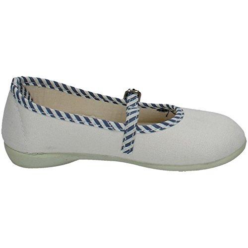 Vulca Bicha Bambina scarpe sportive Bianco-marino