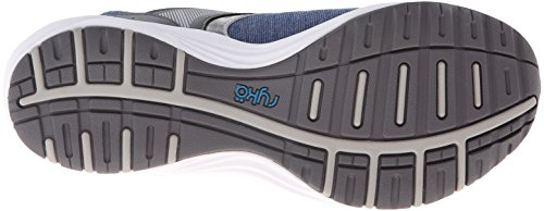 Scarpe donna Stretch ryka Dash escursioni Scarpe Outdoor walking (Blu/grigio)