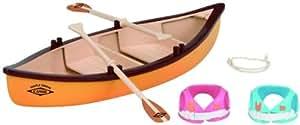 Sylvanian Families - 2883 - Mini Doll - Set Canoe
