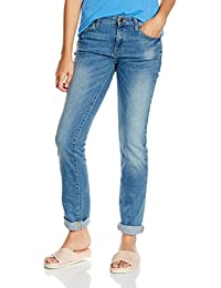 ESPRIT Damen Jeanshose mit geradem Schnitt