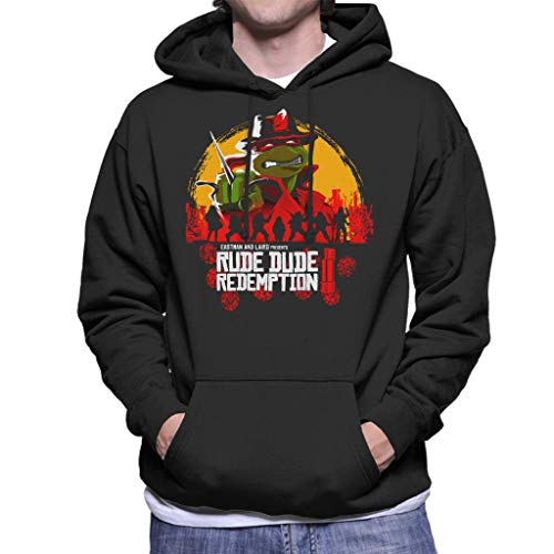 Rude Dude Redemption II Teenage Mutant Ninja Turtles Men's Hooded ()
