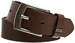 Levis Mens Belt With Ornament Logo
