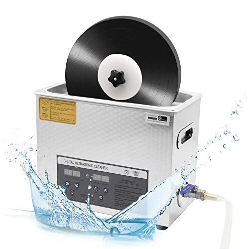 Cgoldenwall 6L Ultrasonic Cleaner mini Benchtop record CD Wash Machine occhiali/orologi/dentiere/Jewelry multifunzionale disinfezione per uso commerciale e domestico ps-30a certificato CE, Machine