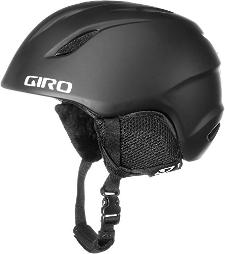 GIRO Kinder Skihelm Launch, Mat Black, M/L, 240073-010
