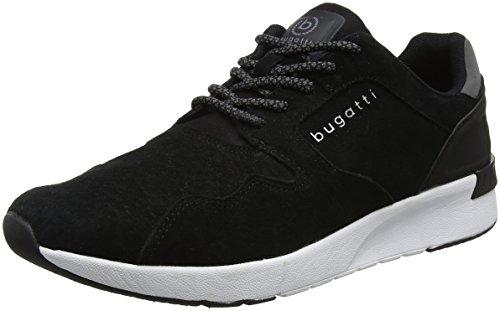 Bugatti Herren 341305047500 Sneaker, Schwarz (Schwarz), 44 EU
