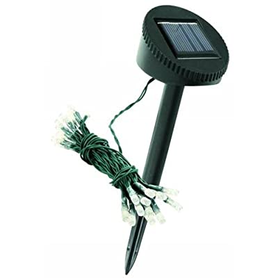 Solar LED-Lichterkette McShine mit 24 LEDs, 5m Gesamtlä von McShine bei Lampenhans.de