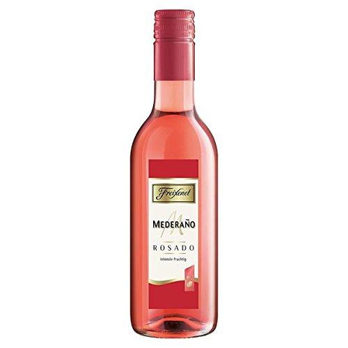 12 Flaschen Spanischer Freixenet Mederano halbtrocken, rosé a 0,25L Picollo