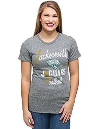 Womens Jacksonville Jaguars Touchdown Tri-Blend T-Shirt